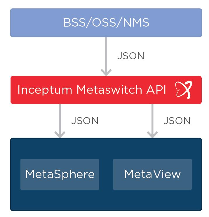 Metaswitch API flow chart