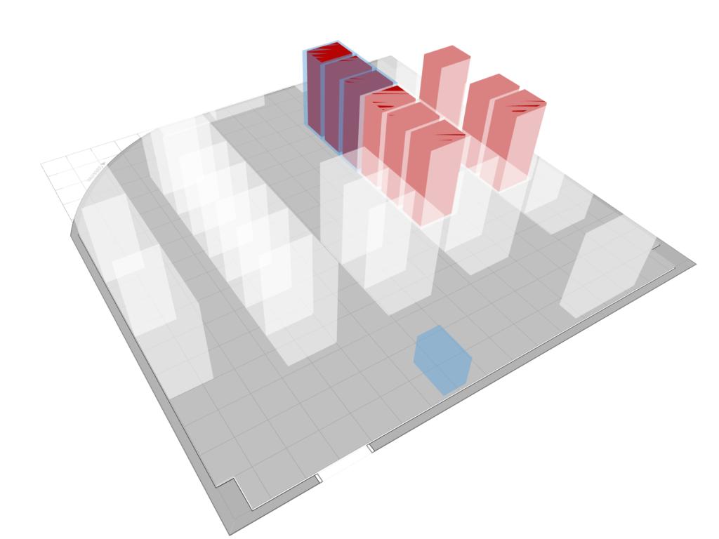 3D cooling utilization view