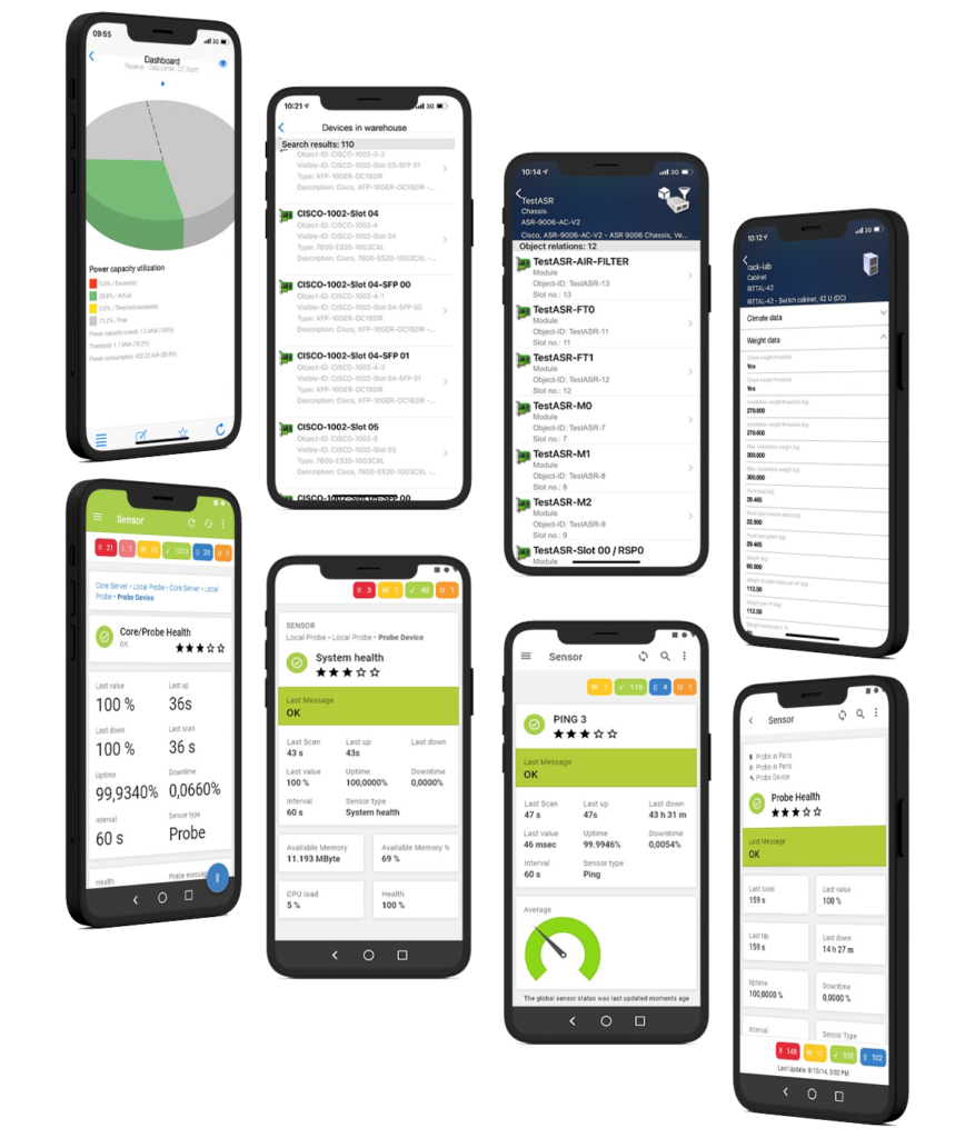 Data Center Infrastructure Management Mobile App